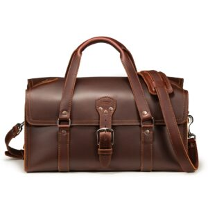 Three Strap Leather Duffle Bag a.k.a The Baby Beast