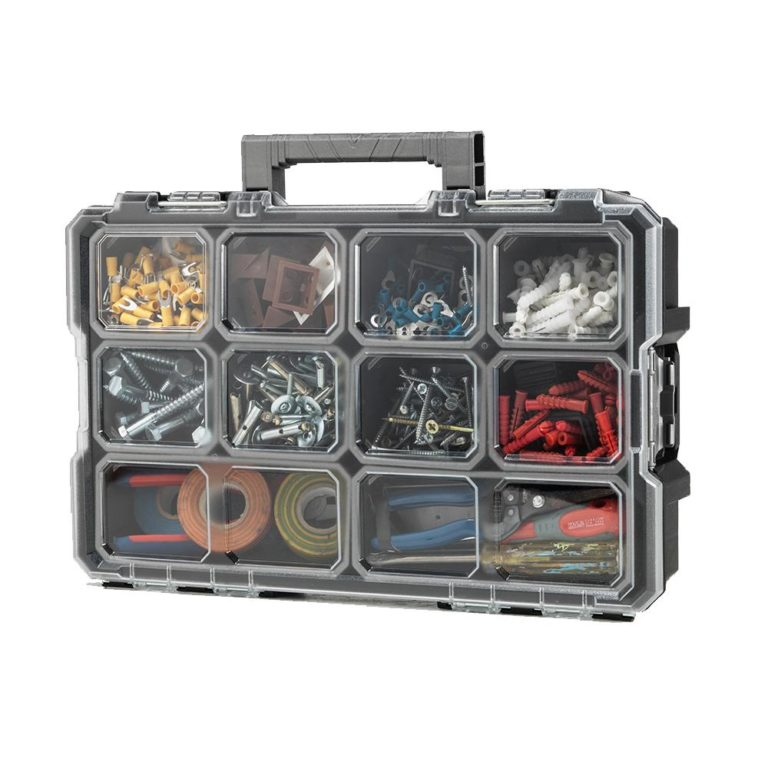 Husky – 10-Compartment Interlocking Small Parts Organizer