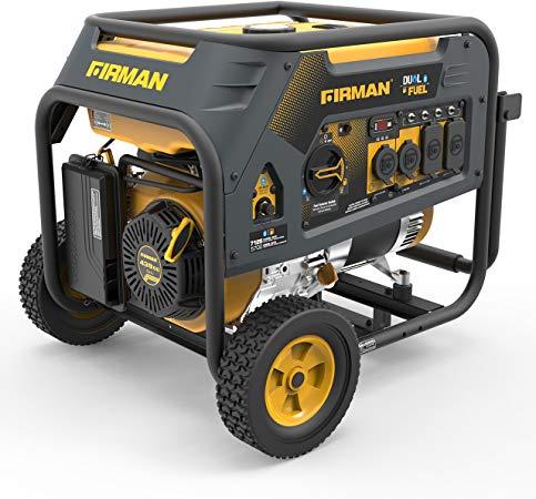 Firman-Dual Fuel Generator