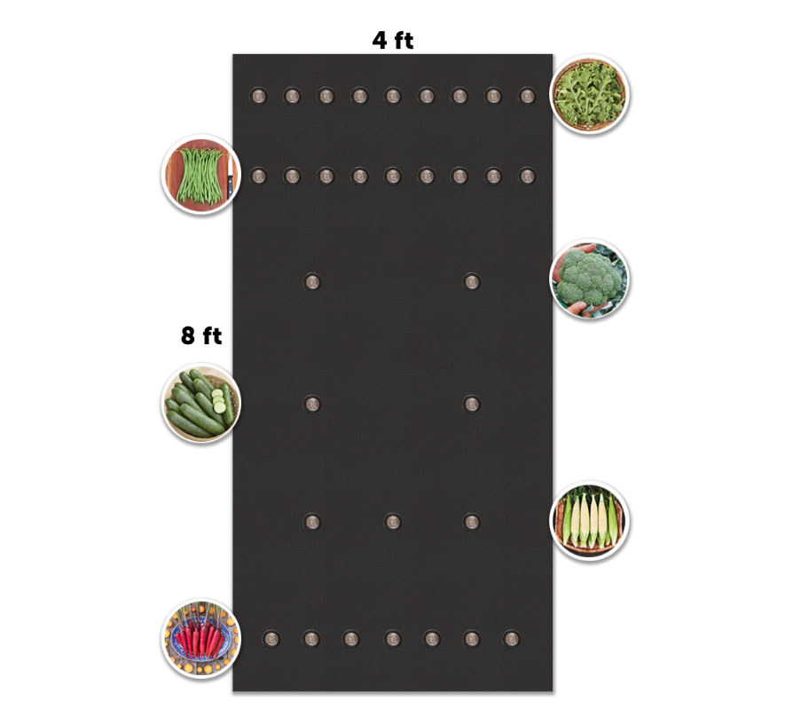 Seedsheet – Custom Garden