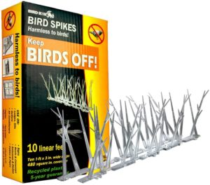 Bird-X - Polycarbonate Bird Spikes