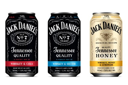 Jack Daniel's – Canned Cocktails