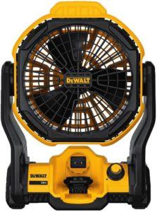 DeWalt - 11 in. Corded/Cordless Jobsite Fan