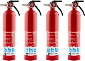 First Alert - HOME1 Rechargeable Fire Extinguisher 4-Pack