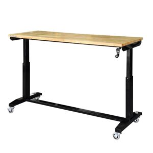 Husky - Adjustable Height Work Table