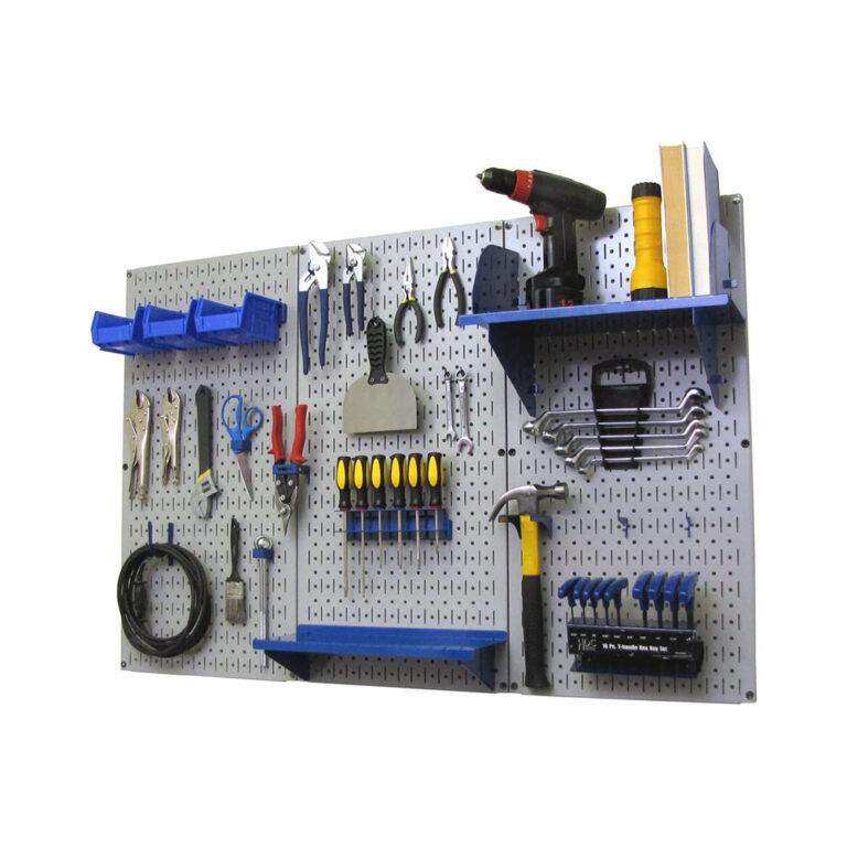 Wall Control –  Metal Pegboard Organizer Kit