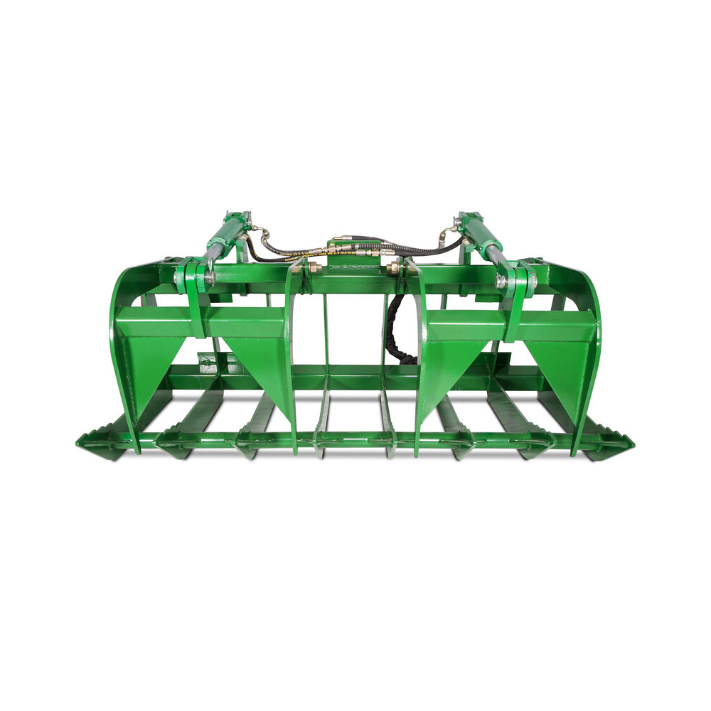 Titan Attachments – 60″ HD Root Grapple Rake