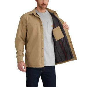 Carhart - Rugged Flex Rigby Fleece Lined Shirt Jac