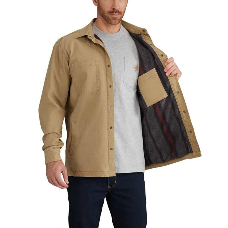 Carhartt – Rugged Flex Rigby Fleece Lined Shirt Jac