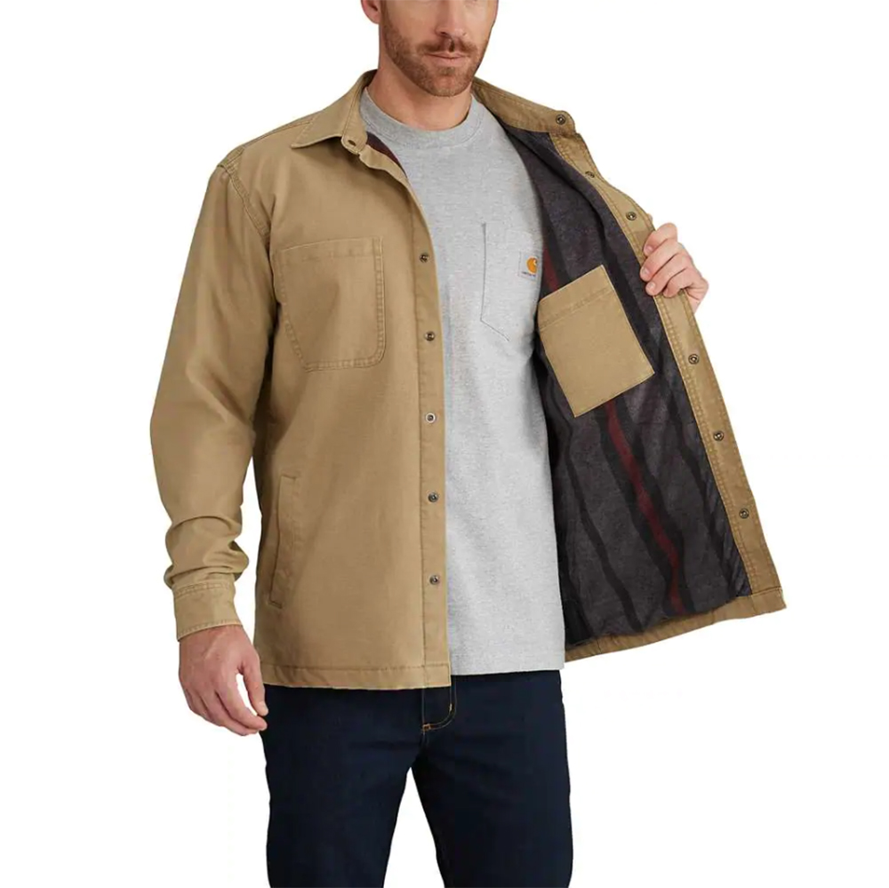 Carhartt – Rugged Flex Rigby Fleece Lined Shirt Jac