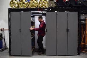Levrack 7-Foot Shelf System