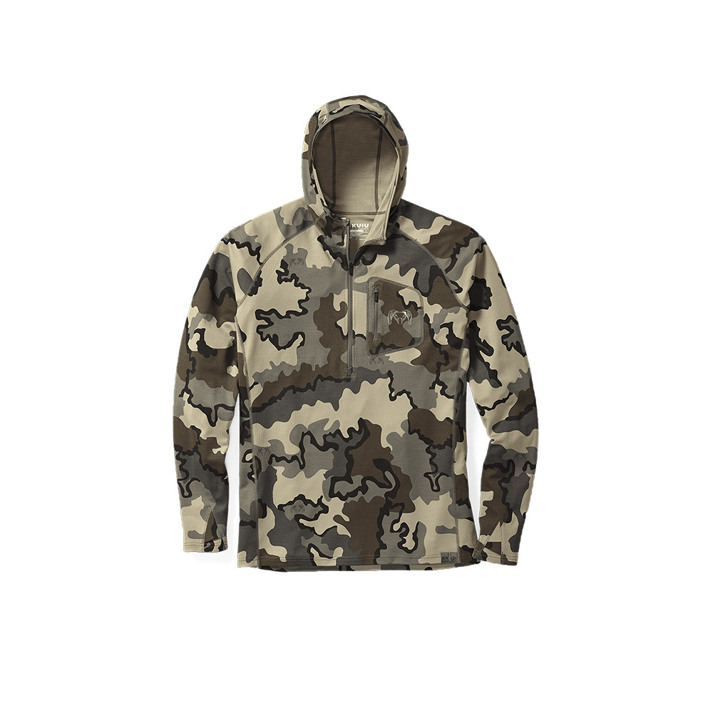 Read more about the article KUIU – Pro Merino 200 Zip-T Hoodie
