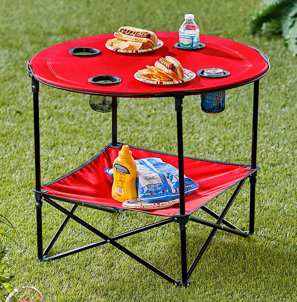 Lakeside Collection – Folding Camp Table