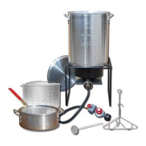 King Kooker - Propane Outdoor Fry Boil Package