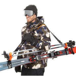 Sklon - Ski Strap and Pole Carrier