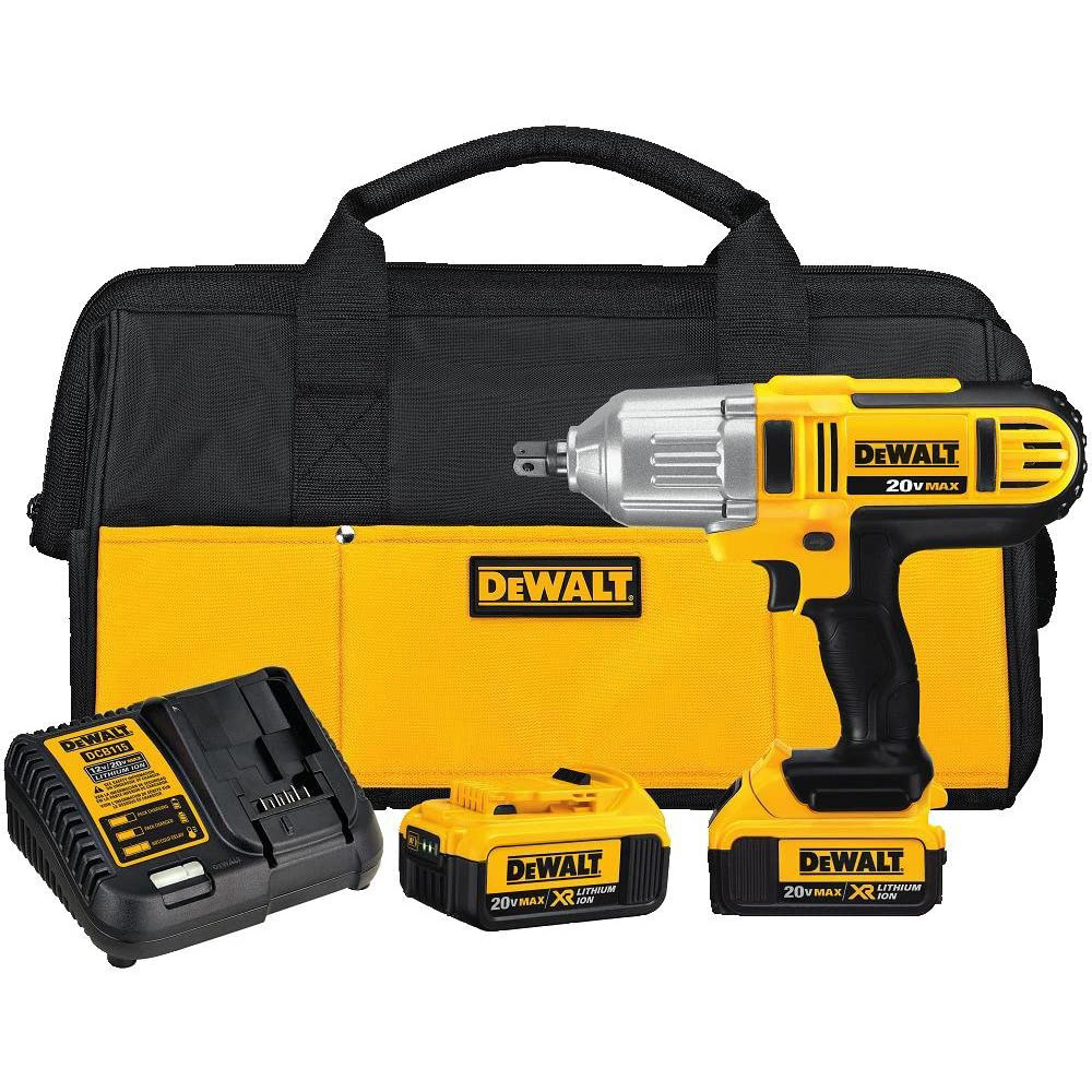 DEWALT – 20V MAX Impact Wrench Kit