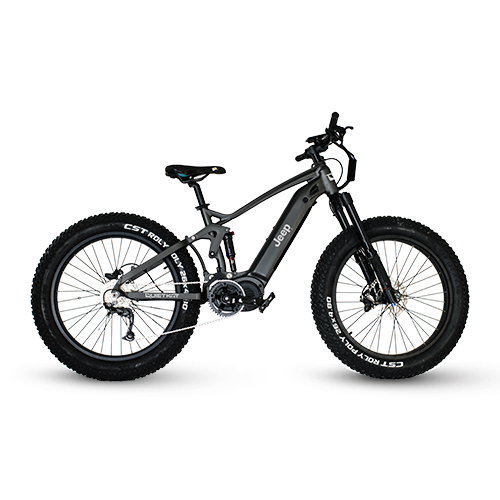 QuietKat – Jeep e-Bike