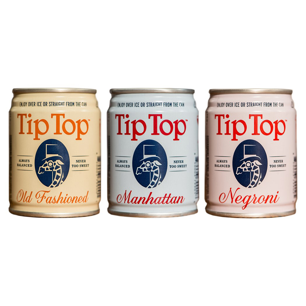 Tip Top – Canned Cocktails