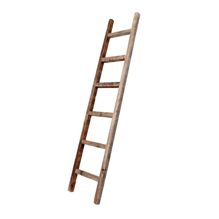 Barnwood USA – Rustic Farmhouse Blanket Ladder