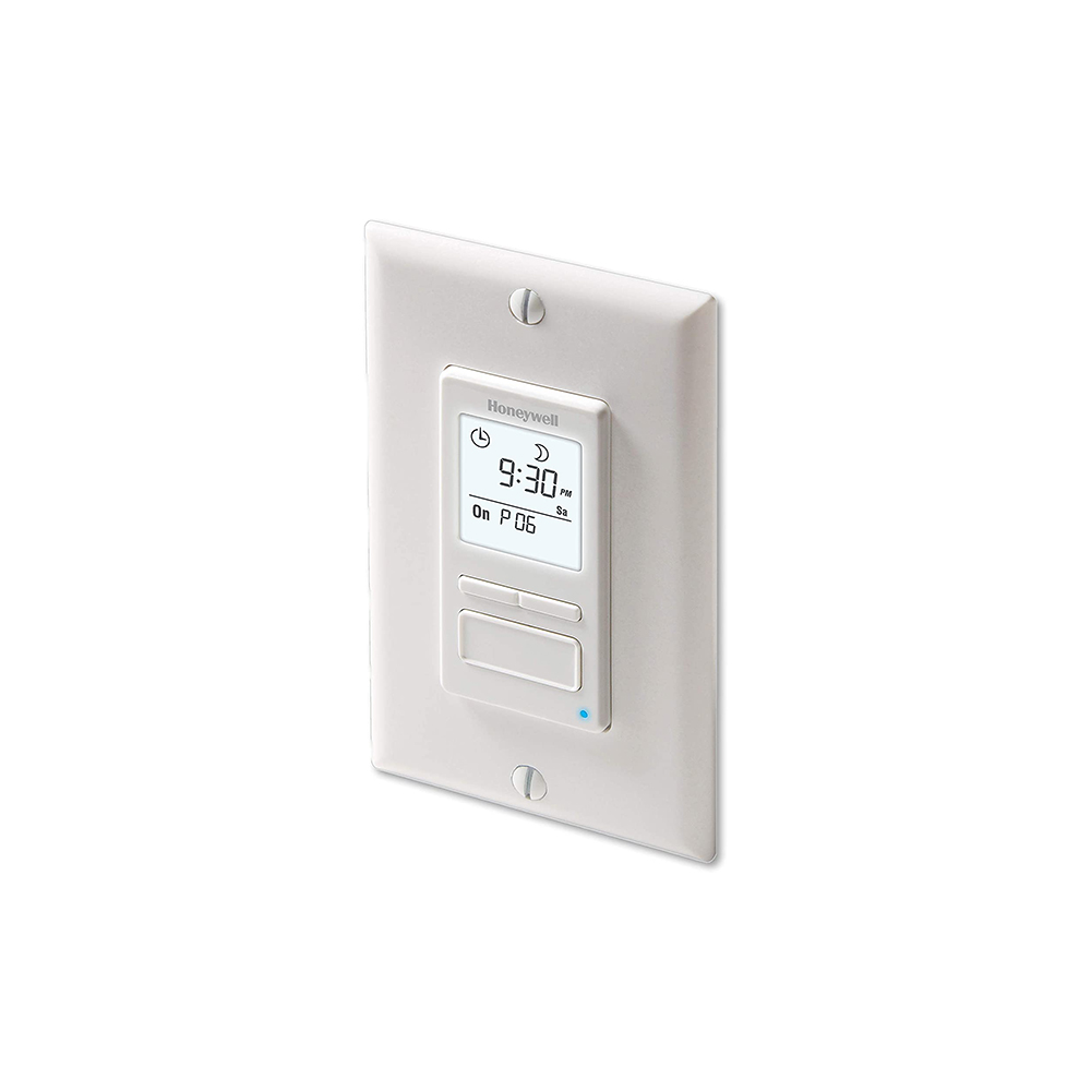 Honeywell Home  – Econoswitch 7-Day Programmable Light Switch Timer