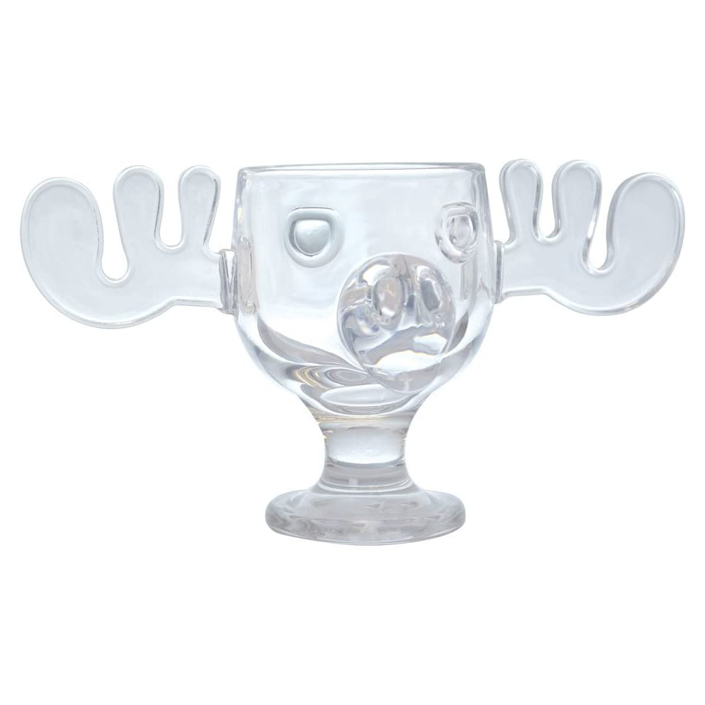 National Lampoons – Officially Licensed Christmas Vacation Glass Moose Mug
