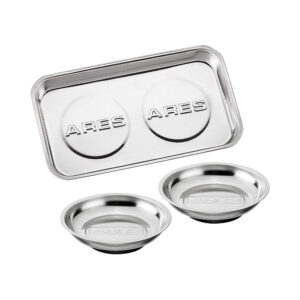 ARES - 3-Piece Magnetic Tool Tray Set