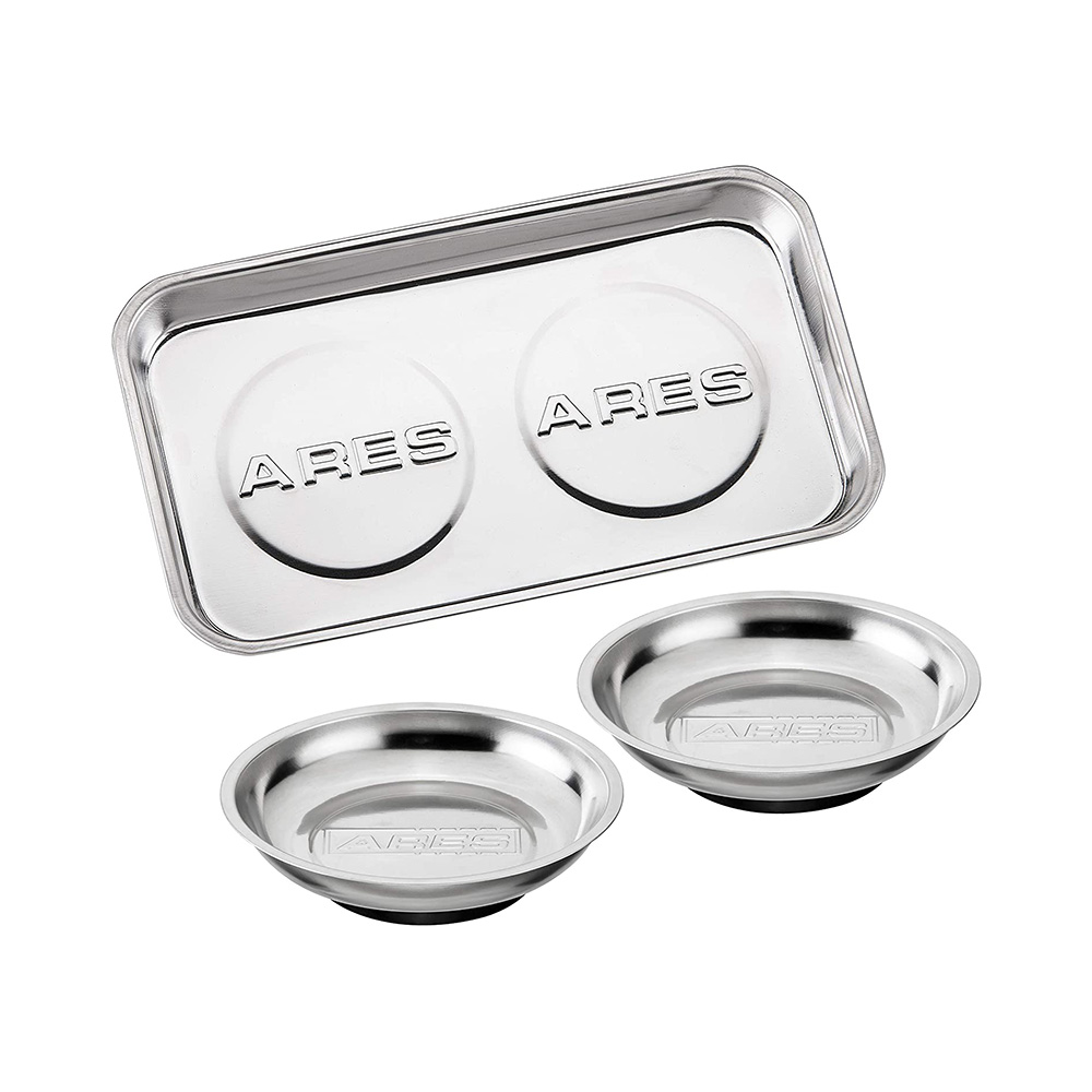 ARES – 3-Piece Magnetic Tool Tray Set