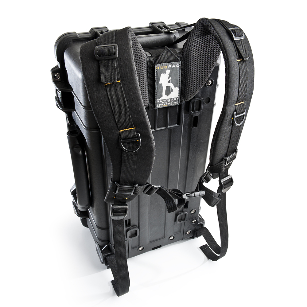 RucPac  – Hardcase Backpack Conversion