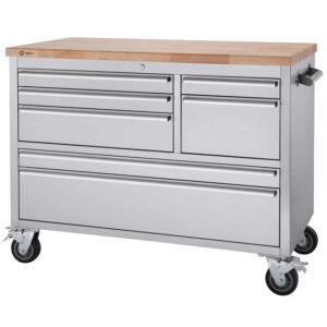 """Trinity - 48"""" Stainless Steel Rolling Workbench"""