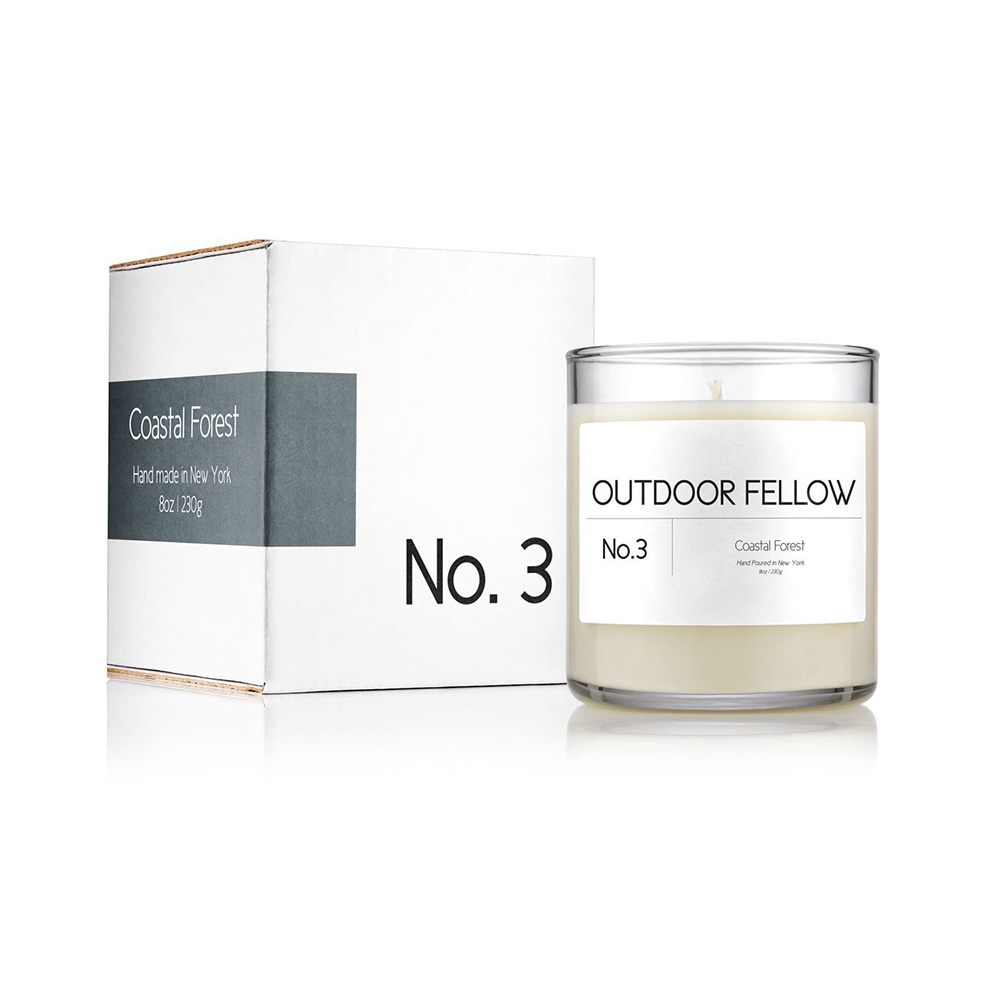 Outdoor Fellow – No.3 Coastal Forest Candle