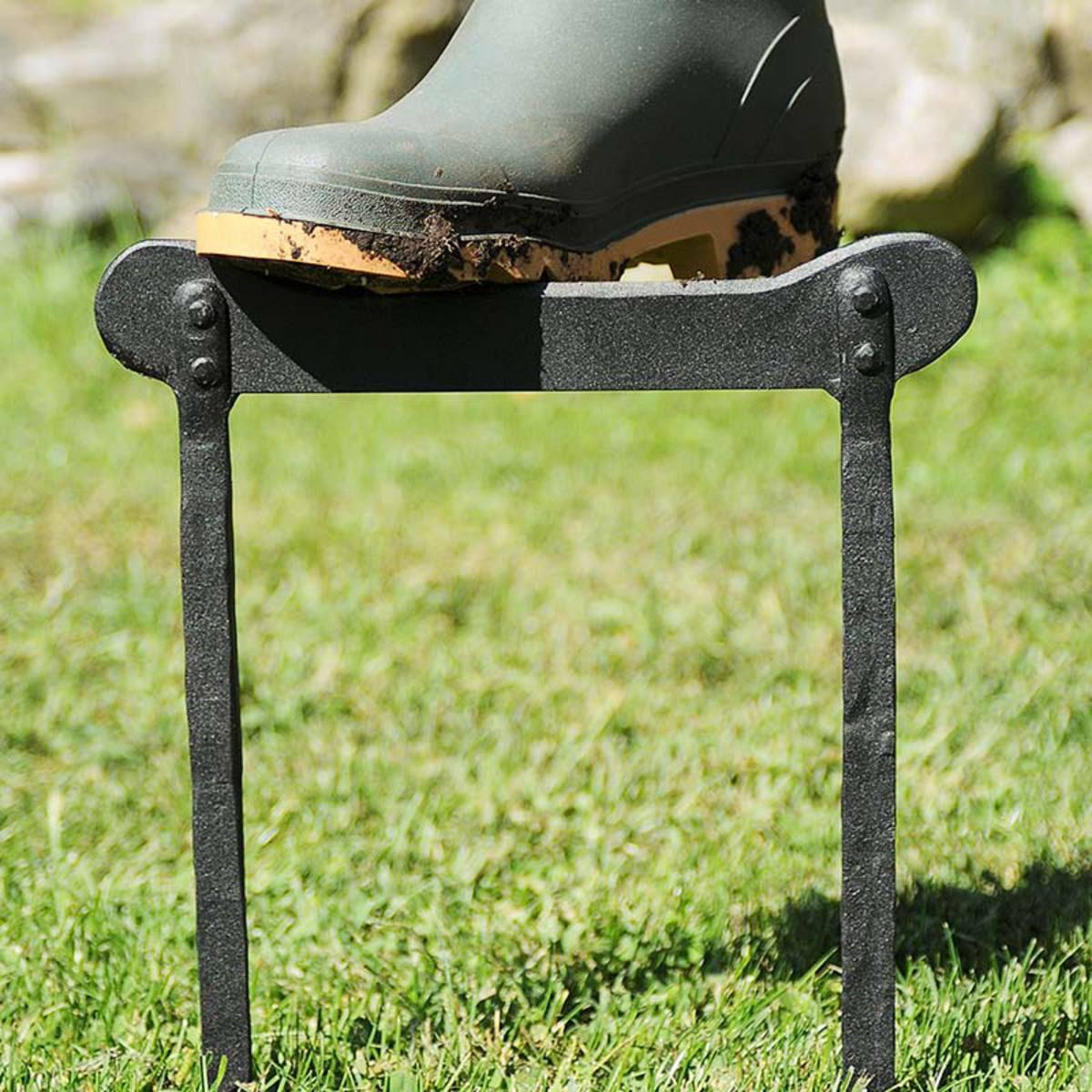 Plow & Hearth - Wrought Iron Boot Scraper