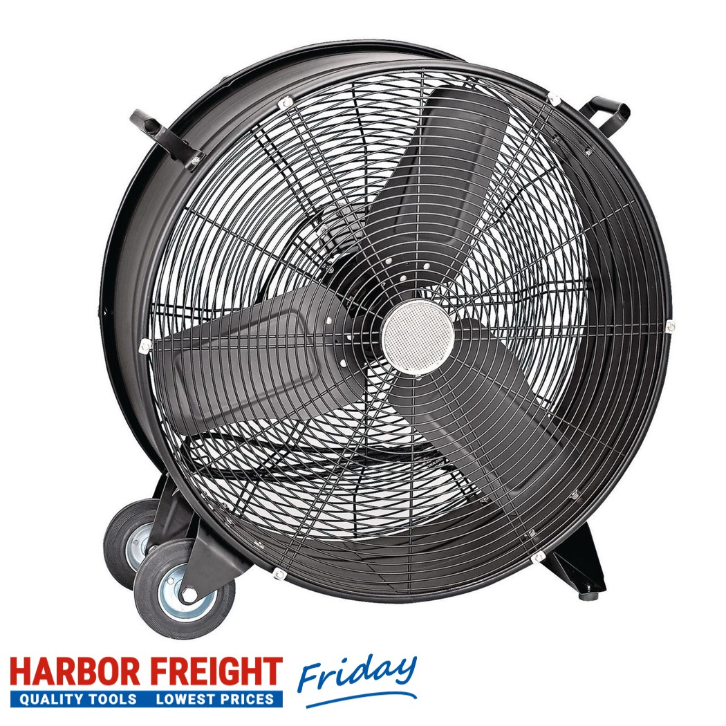 Central Machinery – 24″ High Velocity Shop Fan