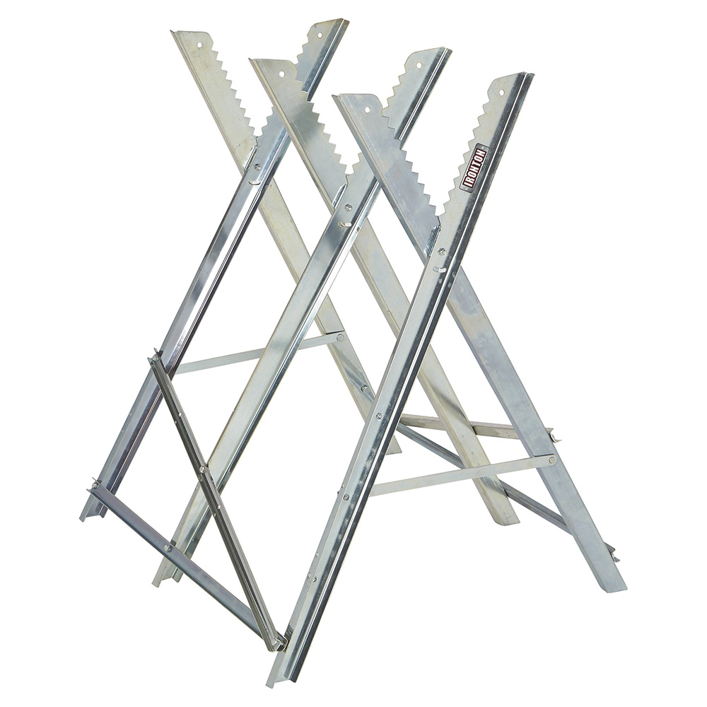 Ironton –  Adjustable Steel Sawhorse