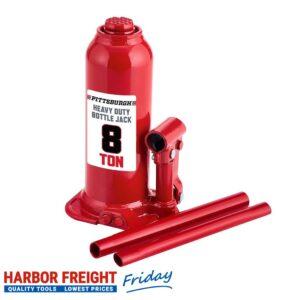 Pittsburgh - 8 Ton Hydraulic Bottle Jack