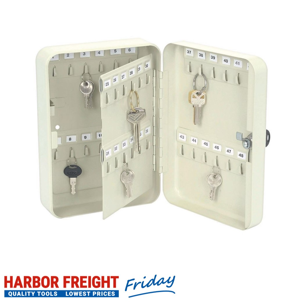 Storehouse – 48 Hook Key Box