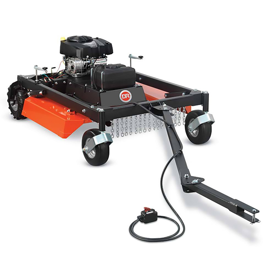 DR Power Equipment  – Pro 44 in. 16.5HP Tow-Behind Field and Brush Mower