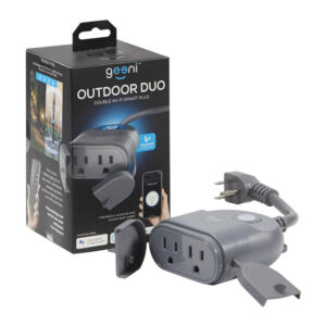 Geeni - Outdoor DUO Dual Outlet Smart Plug
