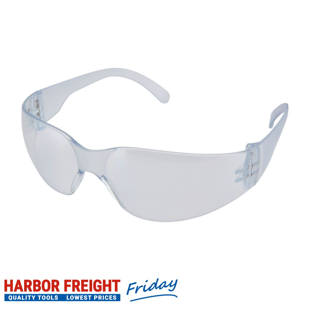 Western Safety - Safety Glasses With Clear Lenses