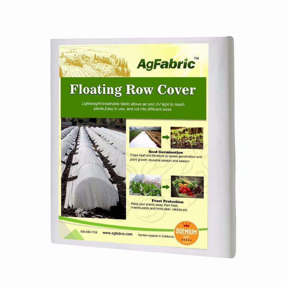 AgFabric – Summer Light White Anti-Insect Anti-frost Row Cover for Garden