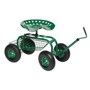 Plow & Hearth - Scoot-N-Do Garden Seat
