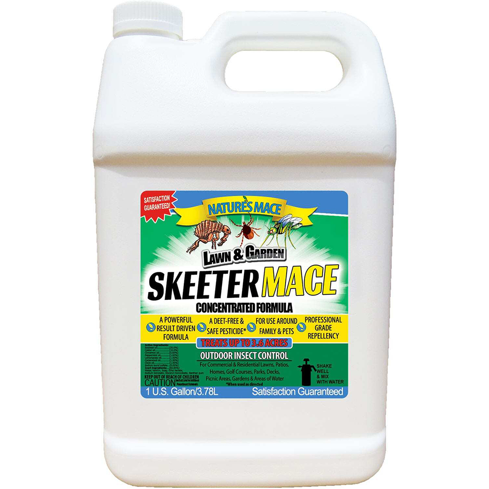 Skeeter MACE – Outdoor Insect Control Spray, 1 Gallon Concentrate