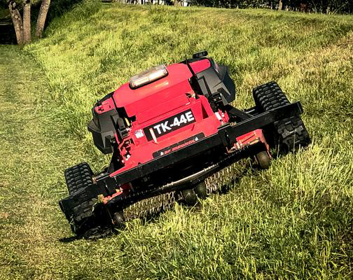 RC Mowers – TK-44E Remote Control Steep Slope Mower