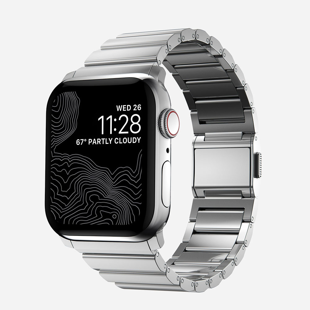 Nomad – Steel Band for Apple Watch