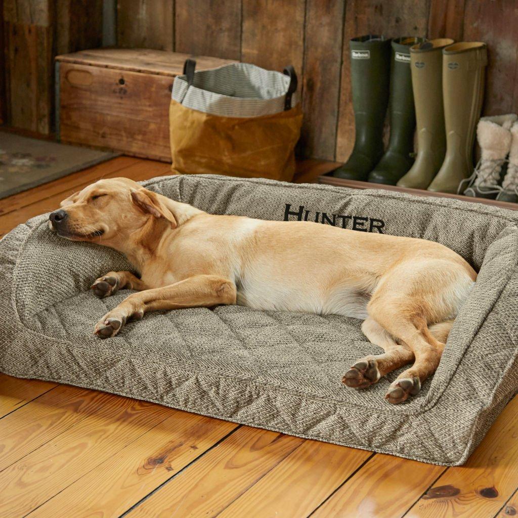 Orvis –  Memory Foam Bolster Dog Bed