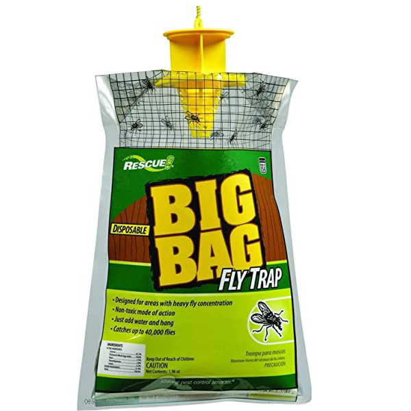 Read more about the article RESCUE!® –  Big Bag Disposable Fly Trap