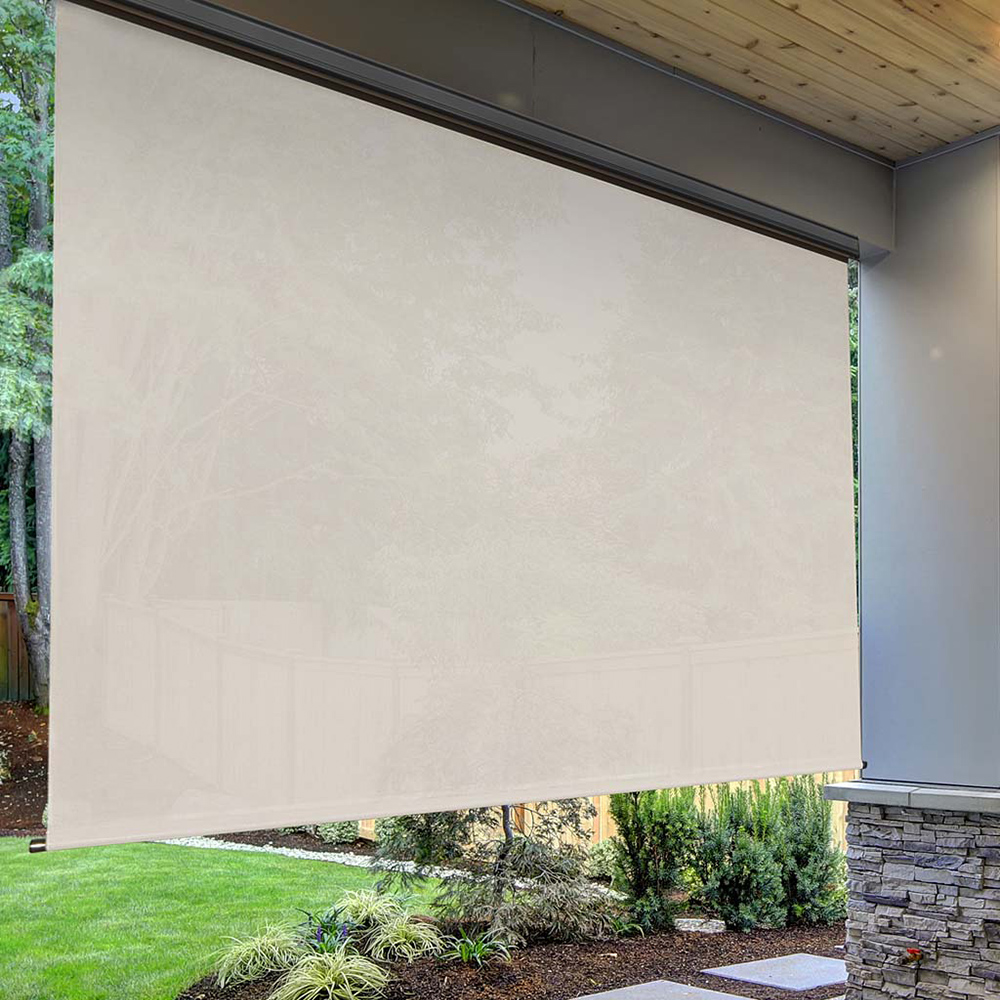 Plow & Hearth - Deluxe Roll-Up Outdoor Shade