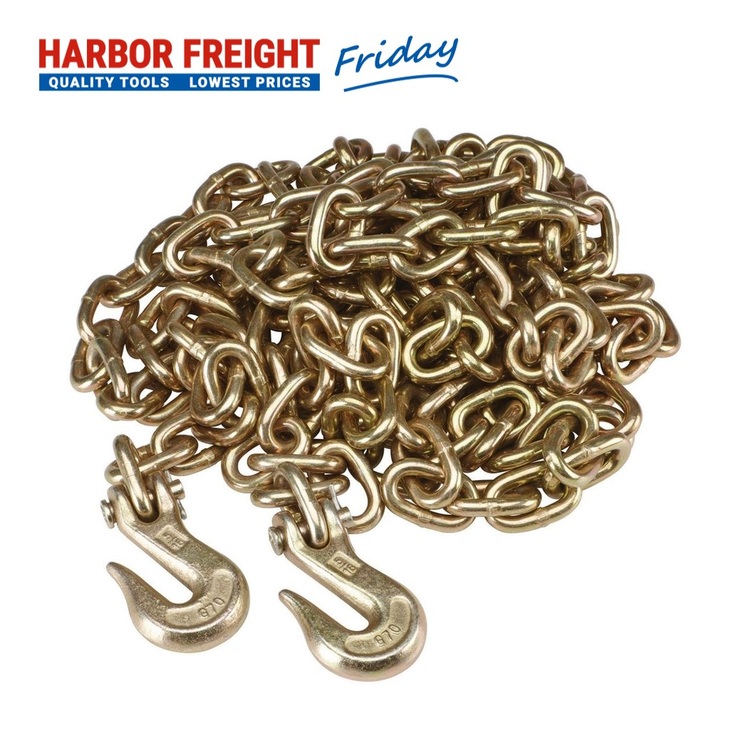 Read more about the article Haul-Master – Trucker's Chain, 5/16 In. X 20 Ft. Grade 70