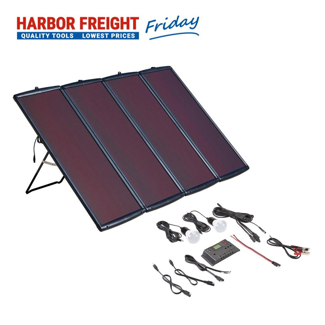 Thunderbolt – 100 Watt Solar Panel Kit