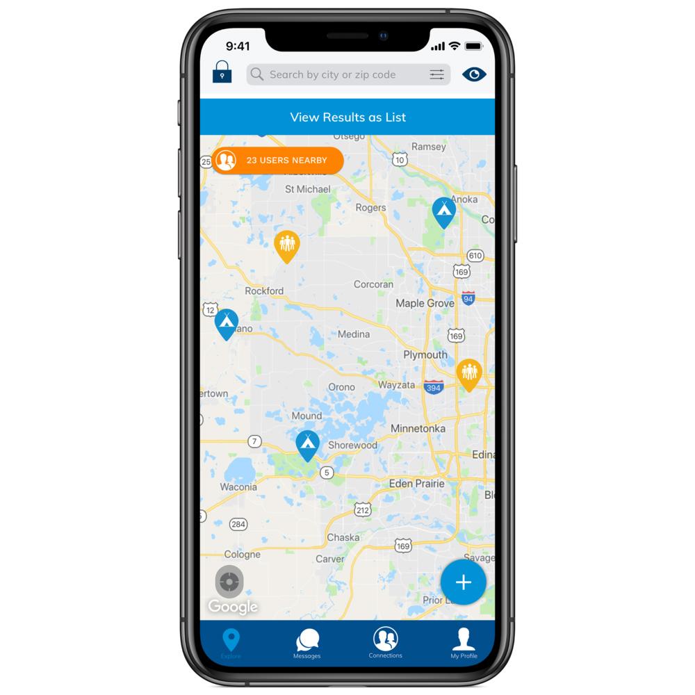 Sekr –  Outdoor Travel Community App