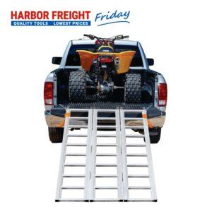 Haul-Master - 1500 lb. Capacity Trifold Aluminum Ramp